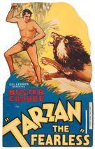 Tarzan the Fearless - Czech Movie Poster (xs thumbnail)