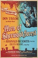 The Men of Sherwood Forest - Re-release poster (xs thumbnail)