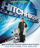The Hitchhiker's Guide to the Galaxy - Blu-Ray cover (xs thumbnail)