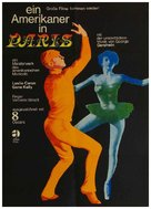 An American in Paris - German Re-release poster (xs thumbnail)