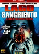 Blood Lake: Attack of the Killer Lampreys - Spanish DVD cover (xs thumbnail)