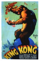 King Kong - Swedish Movie Poster (xs thumbnail)