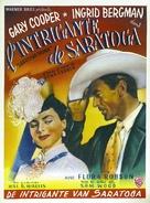 Saratoga Trunk - Belgian Movie Poster (xs thumbnail)