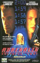 Adrenalin: Fear the Rush - Czech VHS movie cover (xs thumbnail)