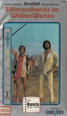 Amico, stammi lontano almeno un palmo - German VHS cover (xs thumbnail)