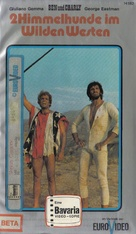Amico, stammi lontano almeno un palmo - German VHS movie cover (xs thumbnail)