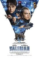 Valerian and the City of a Thousand Planets - British Movie Poster (xs thumbnail)