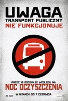 The Purge - Polish Movie Poster (xs thumbnail)