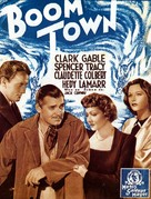 Boom Town - French Movie Poster (xs thumbnail)