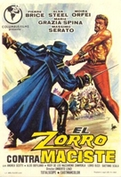 Zorro contro Maciste - Spanish Movie Poster (xs thumbnail)