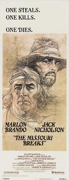 The Missouri Breaks - Movie Poster (xs thumbnail)