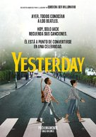Yesterday - Mexican Movie Poster (xs thumbnail)