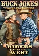 Riders of the West - DVD cover (xs thumbnail)