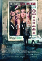 Nine - Portuguese Movie Poster (xs thumbnail)