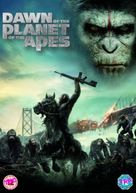 Dawn of the Planet of the Apes - British DVD movie cover (xs thumbnail)