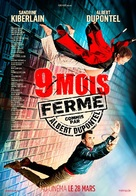 9 mois ferme - Canadian Movie Poster (xs thumbnail)
