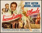 Incendiary Blonde - Movie Poster (xs thumbnail)