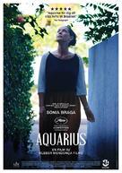 Aquarius - Swedish Movie Poster (xs thumbnail)
