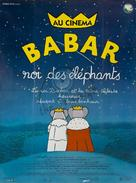 Babar: King of the Elephants - French Movie Poster (xs thumbnail)