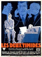 Les deux timides - French Movie Poster (xs thumbnail)