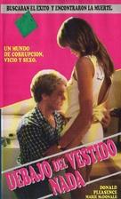 Sotto il vestito niente - Argentinian VHS cover (xs thumbnail)