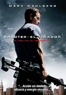 Shooter - Spanish DVD cover (xs thumbnail)