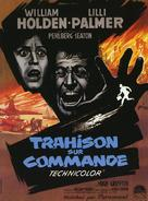 The Counterfeit Traitor - French Movie Poster (xs thumbnail)