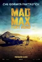 Mad Max: Fury Road - Italian Movie Poster (xs thumbnail)