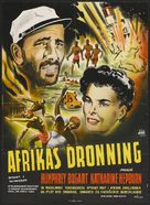 The African Queen - Danish Movie Poster (xs thumbnail)