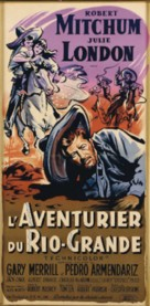 The Wonderful Country - French Movie Poster (xs thumbnail)