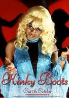 Kinky Boots - British poster (xs thumbnail)
