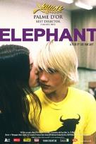 Elephant - Belgian Movie Poster (xs thumbnail)