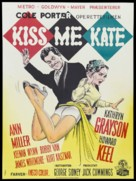 Kiss Me Kate - Danish Movie Poster (xs thumbnail)