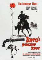 El Zorro cabalga otra vez - German Movie Poster (xs thumbnail)