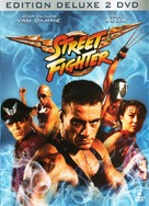 Street Fighter - French DVD cover (xs thumbnail)