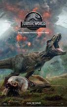 Jurassic World Fallen Kingdom - Austrian Movie Poster (xs thumbnail)
