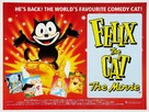 Felix the Cat: The Movie - British Movie Poster (xs thumbnail)