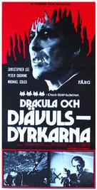The Satanic Rites of Dracula - Swedish Movie Poster (xs thumbnail)