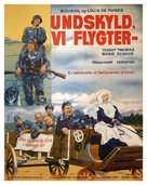 La grande vadrouille - Danish Movie Poster (xs thumbnail)