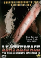Leatherface: Texas Chainsaw Massacre III - German DVD cover (xs thumbnail)