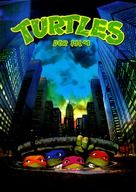 Teenage Mutant Ninja Turtles - German DVD cover (xs thumbnail)