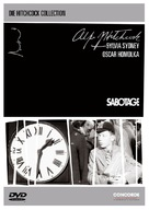 Sabotage - German DVD cover (xs thumbnail)