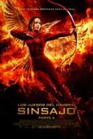 The Hunger Games: Mockingjay - Part 2 - Spanish Movie Poster (xs thumbnail)
