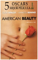 American Beauty - Spanish VHS movie cover (xs thumbnail)