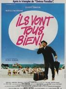 Stanno tutti bene - French Movie Poster (xs thumbnail)