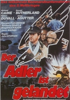 The Eagle Has Landed - German Movie Poster (xs thumbnail)