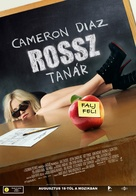 Bad Teacher - Hungarian Movie Poster (xs thumbnail)