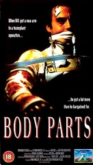 Body Parts - British VHS cover (xs thumbnail)