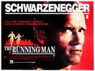The Running Man - British Movie Poster (xs thumbnail)