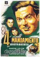 The Magnificent Ambersons - Spanish Movie Poster (xs thumbnail)